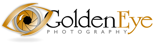GoldenEye Photography logo